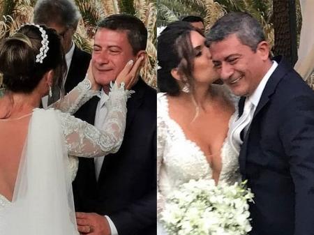 Tom Veiga, o 'Louro José', e Cybelle Costa se separam após oito meses de  casamento
