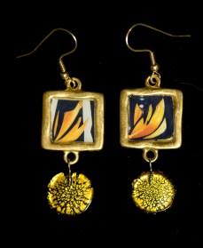 Flame Earrings