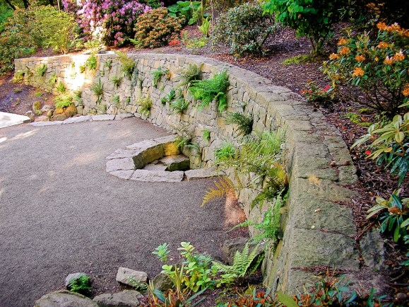 Eric Contey Stonework – The Rhododendron Gardens, Portland, OR