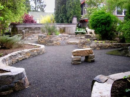 Eric Contey Stonework: DeGarmo patio
