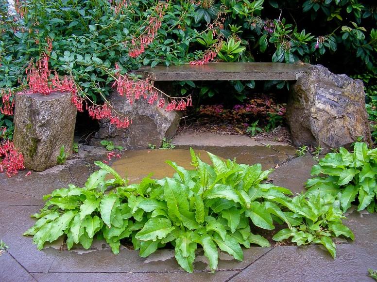 Eric Contey Stonework - bench and patio