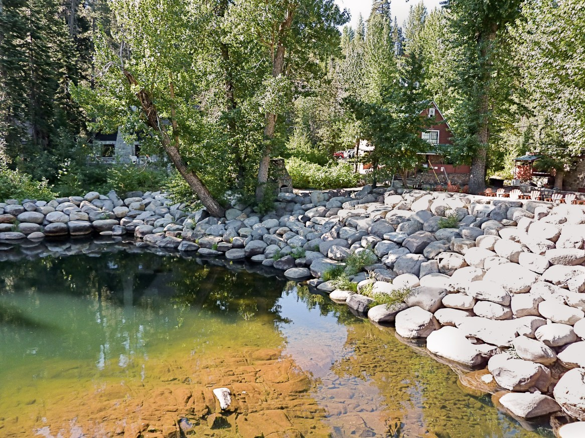Eric Contey Stonework - Stream and bank reclamation, Tahoe