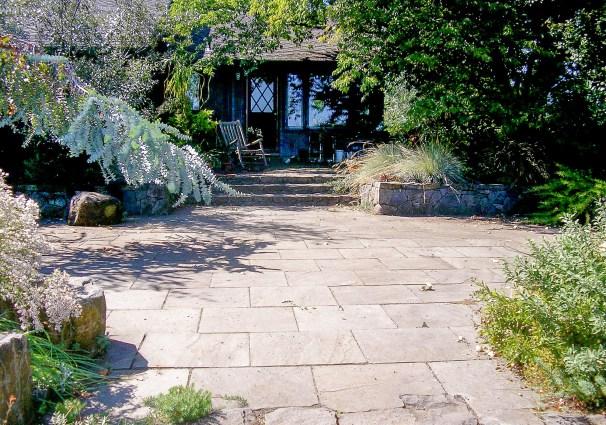 Eric Contey Stonework - Sauvie Island patio and gathering space
