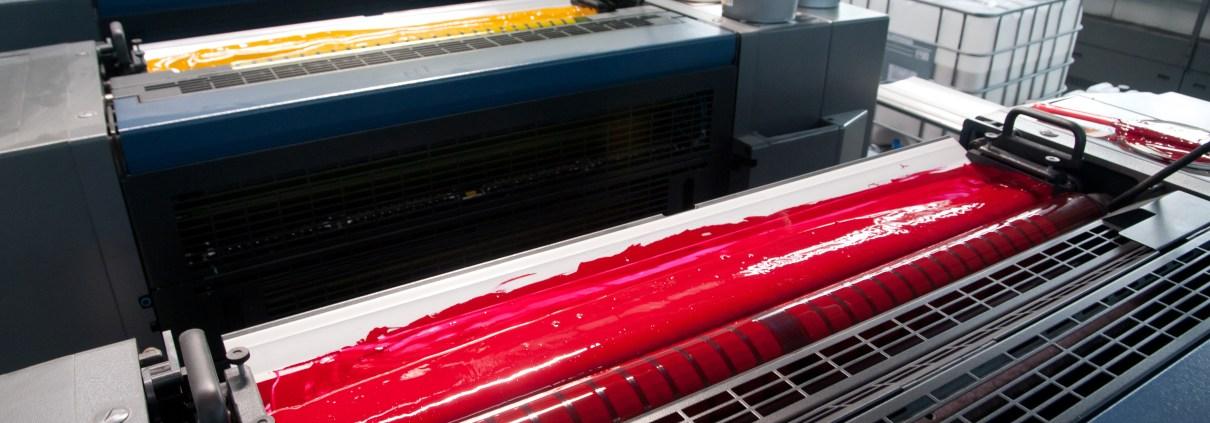 impressão offset e solução de molha