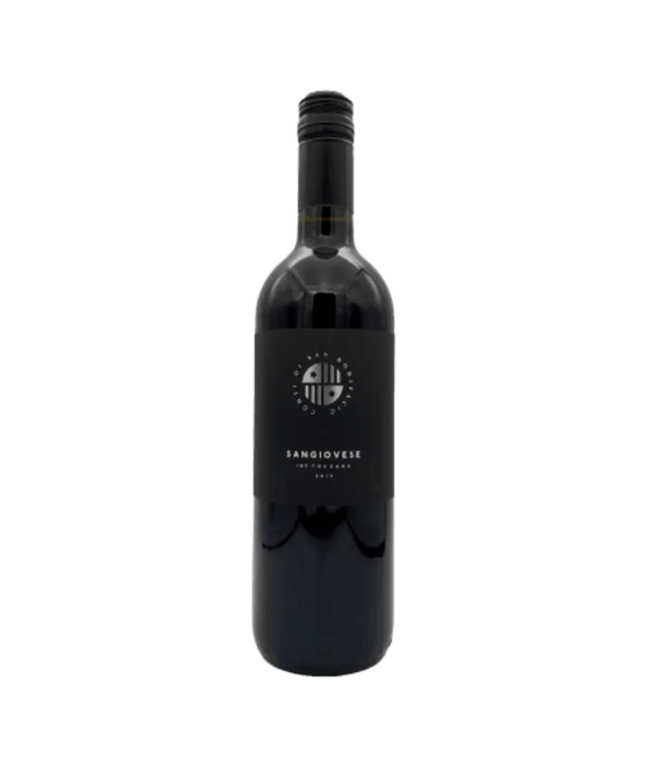 Bottle of Italian Sangiovese 0,75 liters
