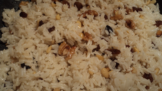 Arroz con froitos secos