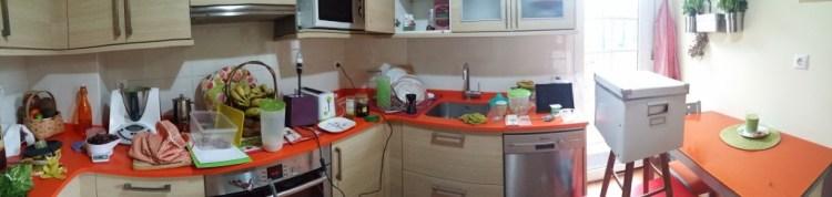 A miña cociña patas arriba
