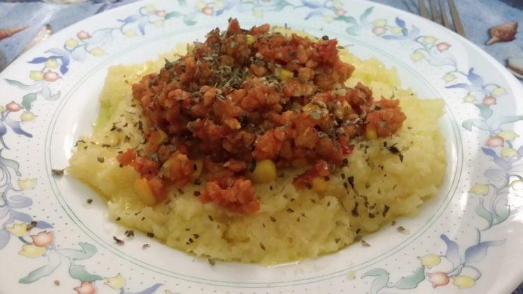 Foto de polenta á táboa