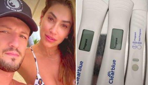 """Ex-panicat Dani Bolina anuncia gravidez de seu primeiro filho: """"Agora seremos 3"""" - Reprodução/Instagram"""