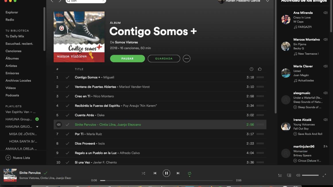 Senite parvulos venire ad me ? + El disco en plataformas digitales: Spotify y ITunes