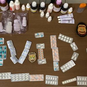 Pai e filho que vendiam 'kit covid-19' com remédios e receitas fraudadas são presos