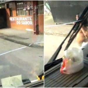 Mulher 'peladona' é flagrada andando pelo Nova Cidade