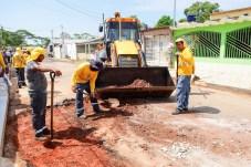 Mais de 79 ruas da Baixada da Sobralpassam por obras de infraestrutura