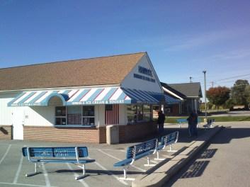 ice cream house