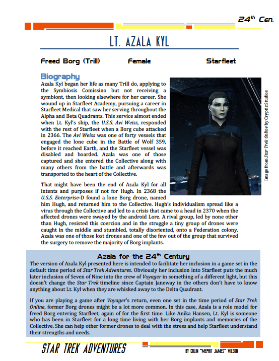 Azala Kyl - Freed Borg - Preview