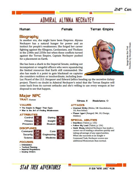 Admiral Nechayev - Preview