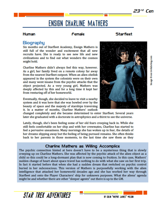 Charline Mathers - Idealistic Scientist - Preview
