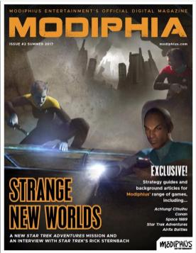 Modiphia - Issue #2 Vulture Among the Stars Star Trek Adventure