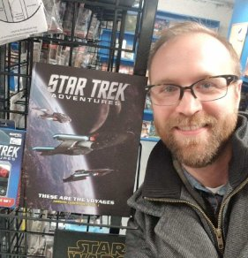 Fred Love shows off Star Trek Adventures: These are the Voyages
