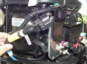 Installing SmartCraft On 40HP Mercury Fourstroke  Moderated Discussion Areas