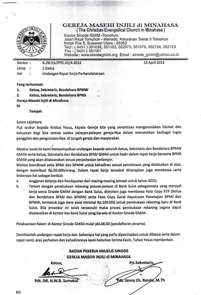Contoh Undangan Rapat Hut Ri Nusagates