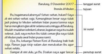 Contoh Surat Pribadi Singkat Bahasa Sunda