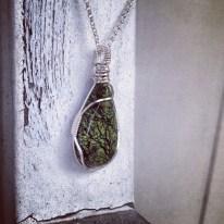 Green Serpentine Pendant