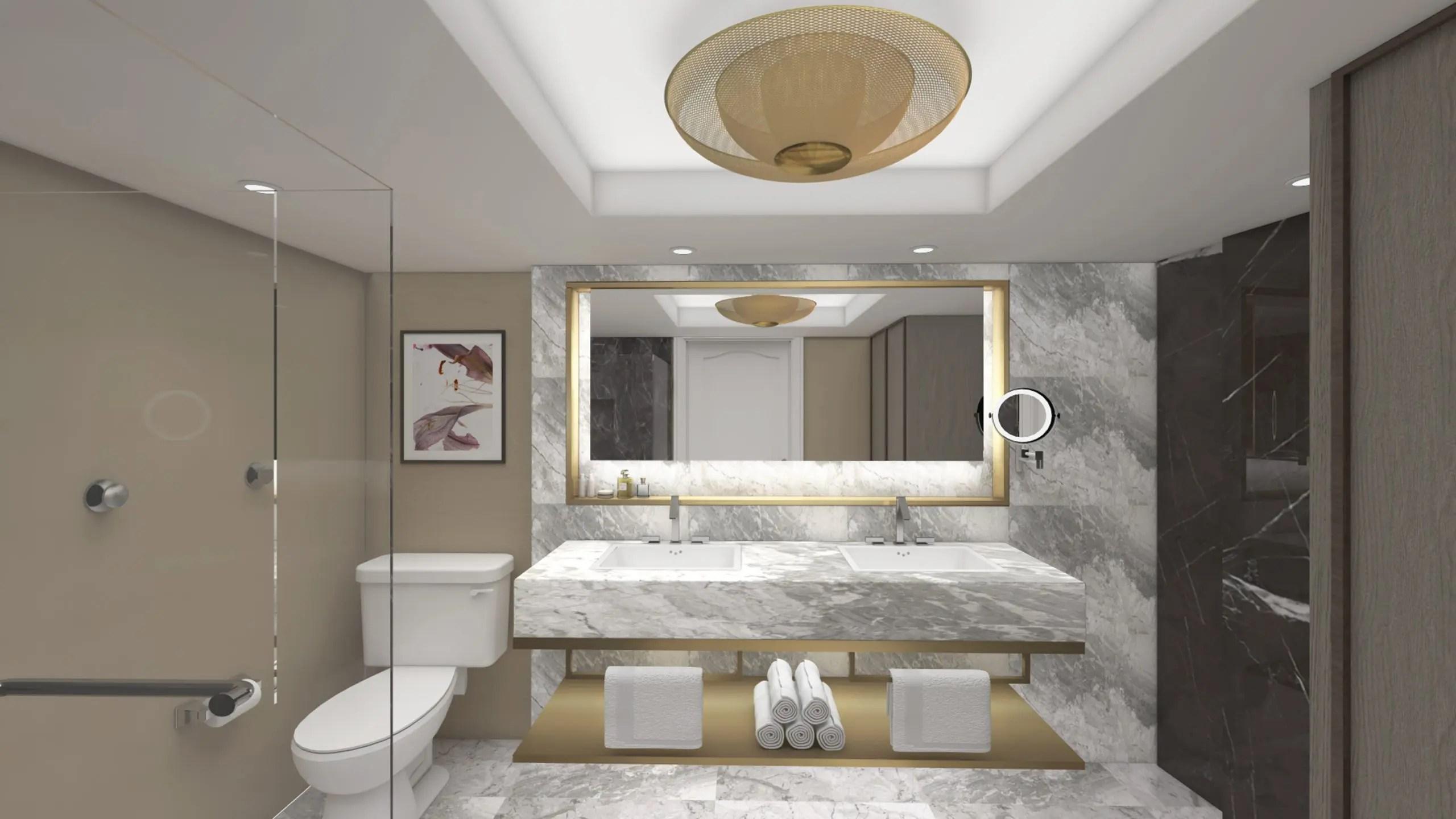 Bellagio Hotel Las Vegas Tower Suite Remodel Contour Interior Design