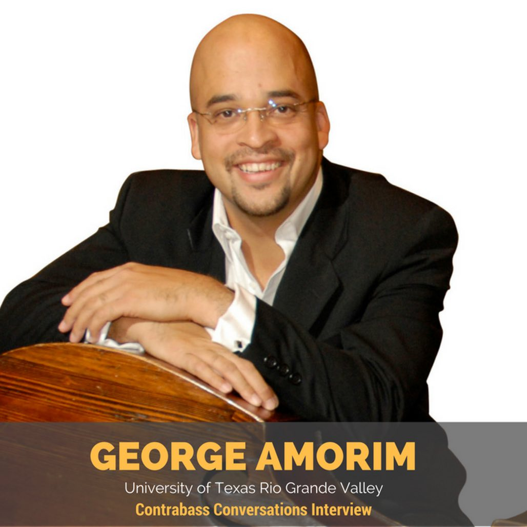 George Amorim double bass