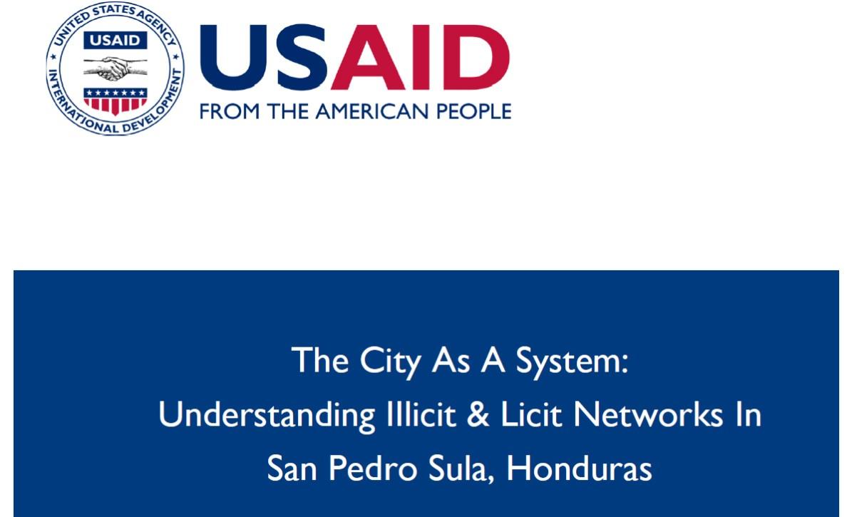 La ciudad como sistema: Entendiendo las redes ilícitas y lícitas en San Pedro Sula, Honduras
