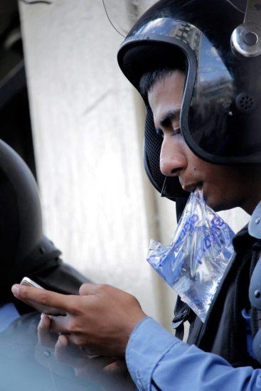 policía-chat