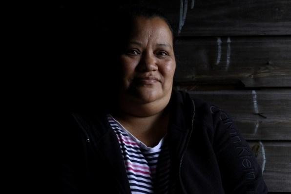 Teresa Laínez es de las primeras habitantes de Mirador de Oriente, otros, como su marido, pelearon por quedarse con el terreno que ahora llaman «barrio». Foto: Martín Cálix.