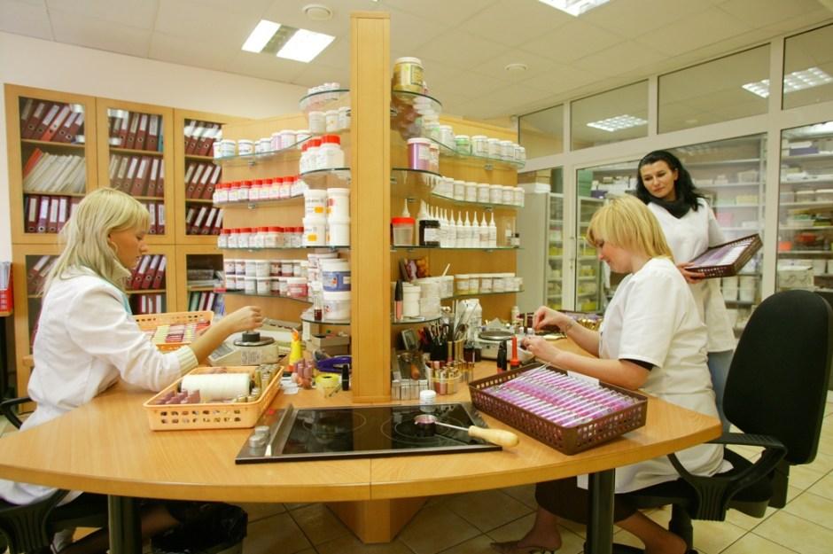 лаборатория косметики