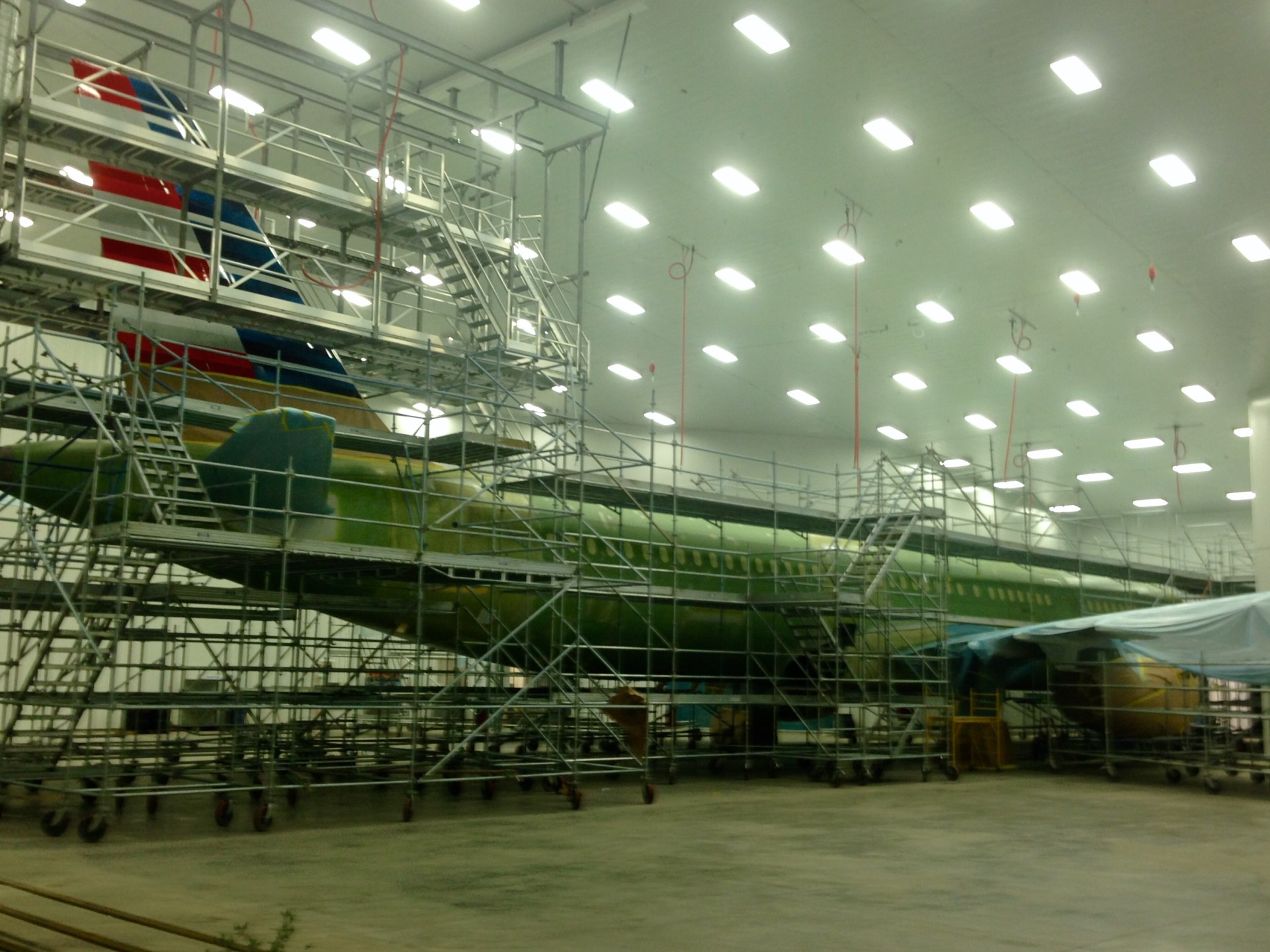 A320 Jet Planes Scaffold 6