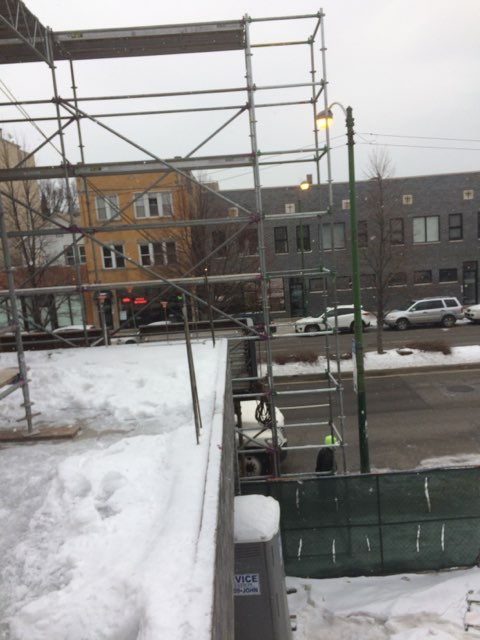 1605 W Ohio St winter enclosure scaffold 9