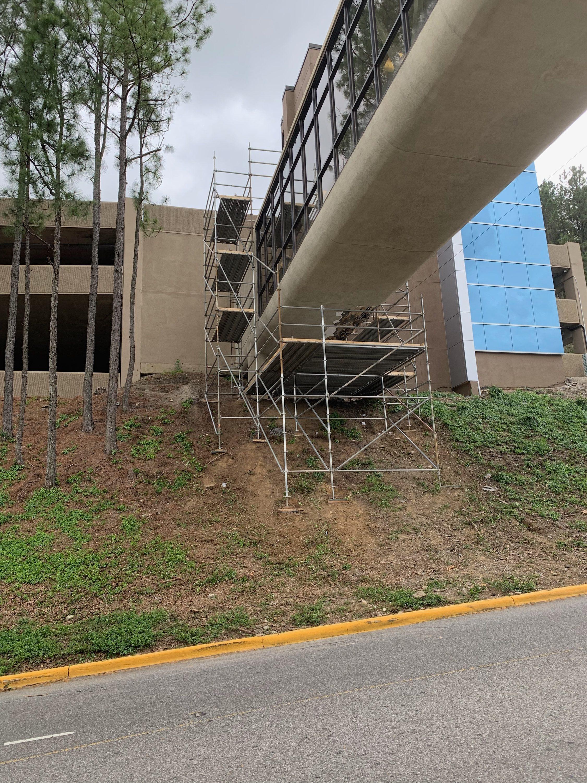 Brookwood Hospital Scaffold 4