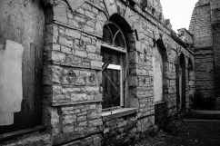 Abandoned train depot in Kingston