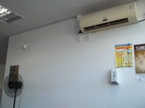 Ar-Condicionado quebrado no CEM 16