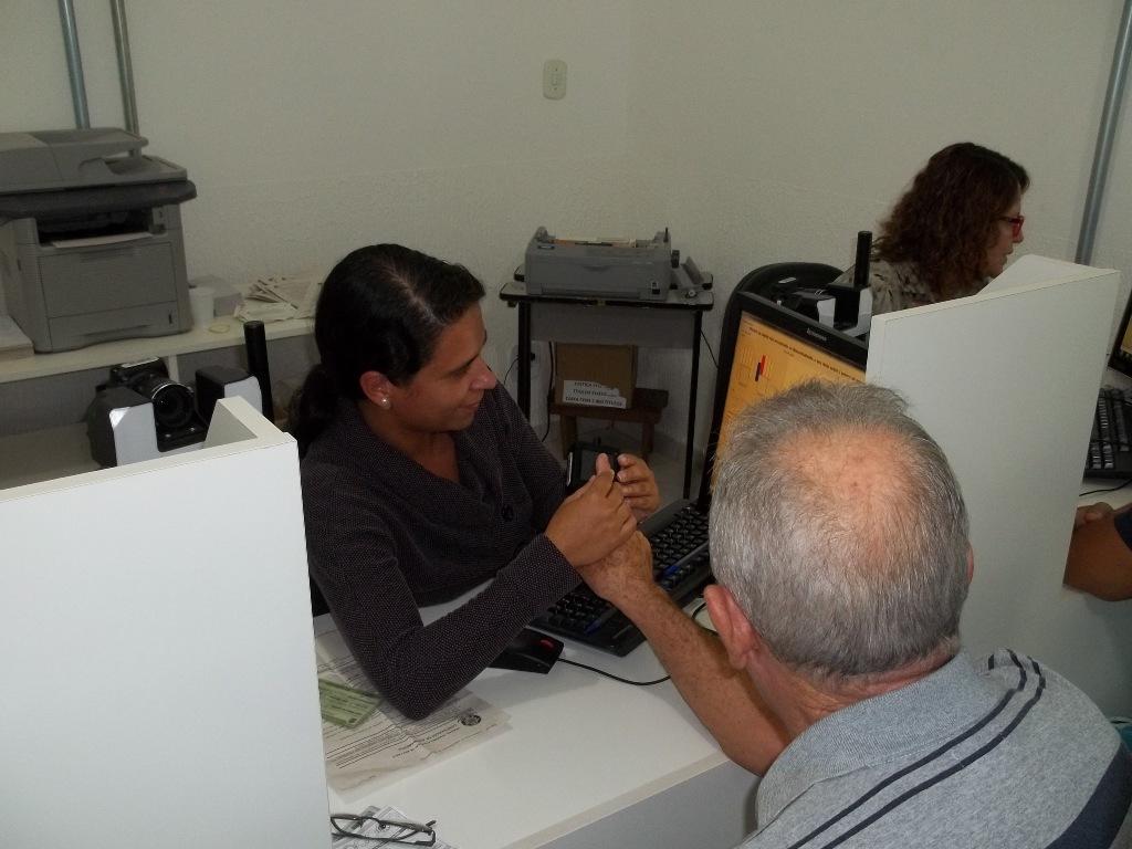 Cartório Eleitoral realiza o Cadastramento Biométrico
