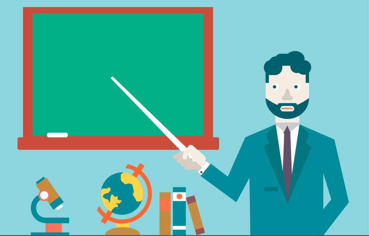 Professor é a base de tudo