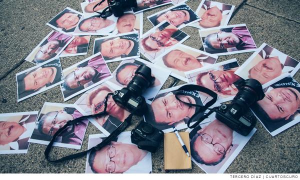 fotos de periodistas que han sufrido agresiones