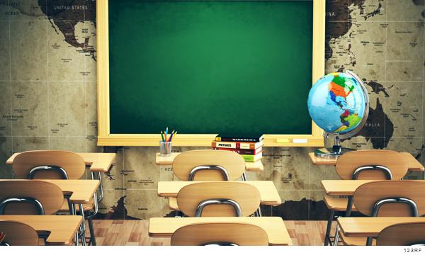Salón de clases presenciales