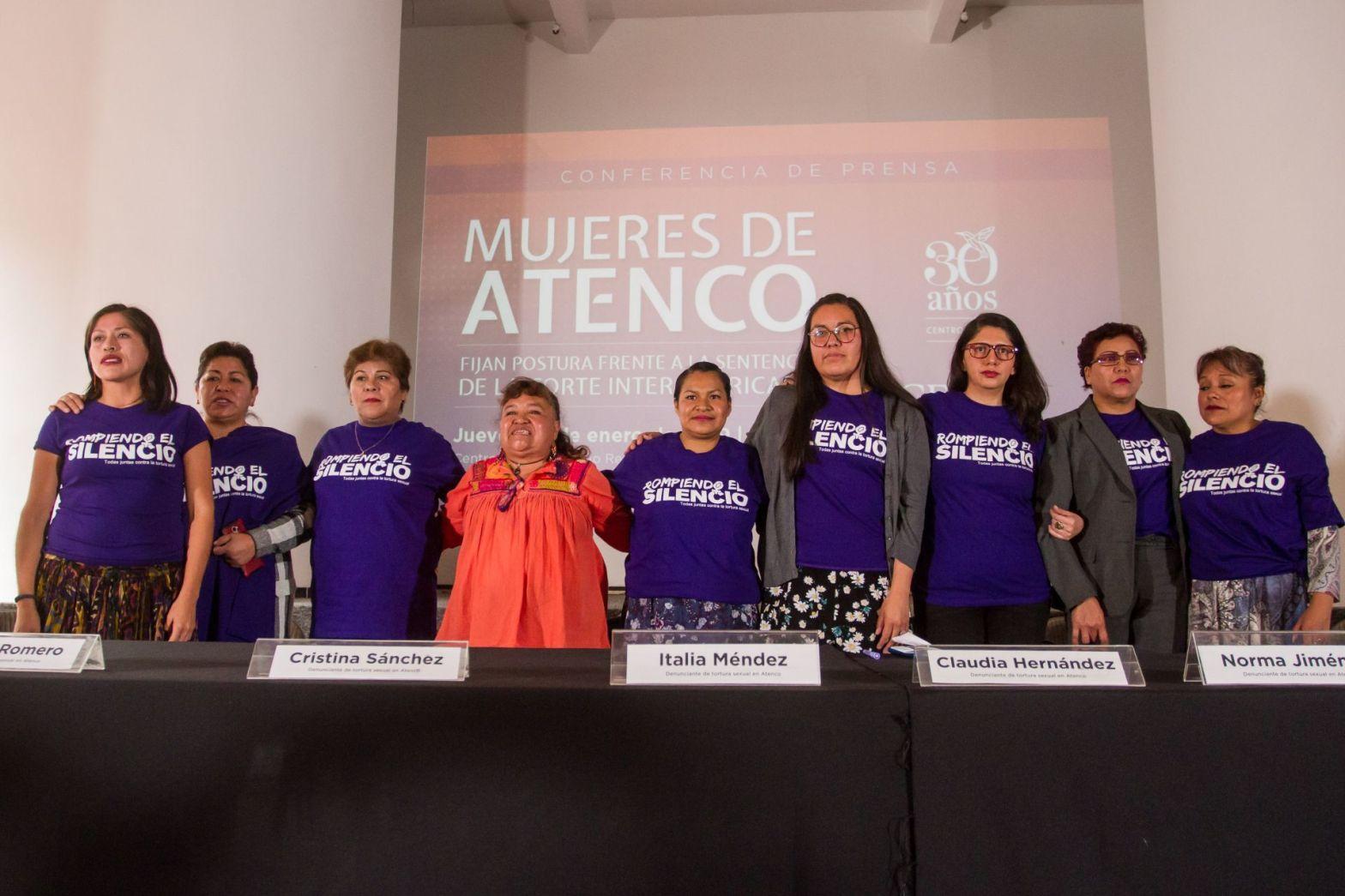 Mujeres sobrevivientes de atenco