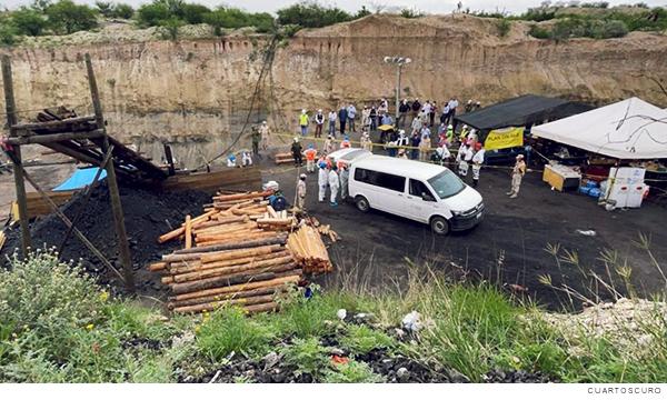 Rescate de mineros en Múzquiz, Coahuila