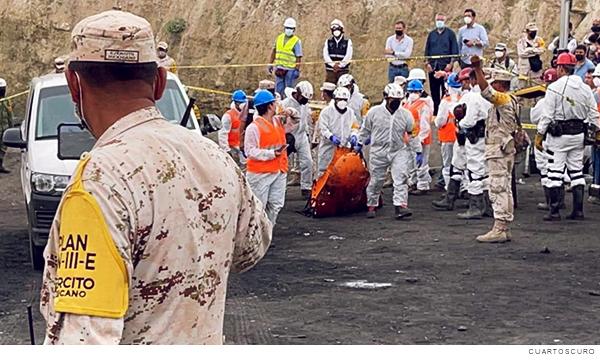 Rescate de los mineros en Coahuila