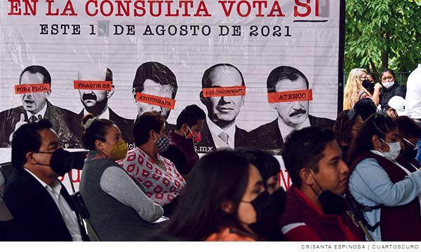 Consulta para juzgar a expresidentes en México