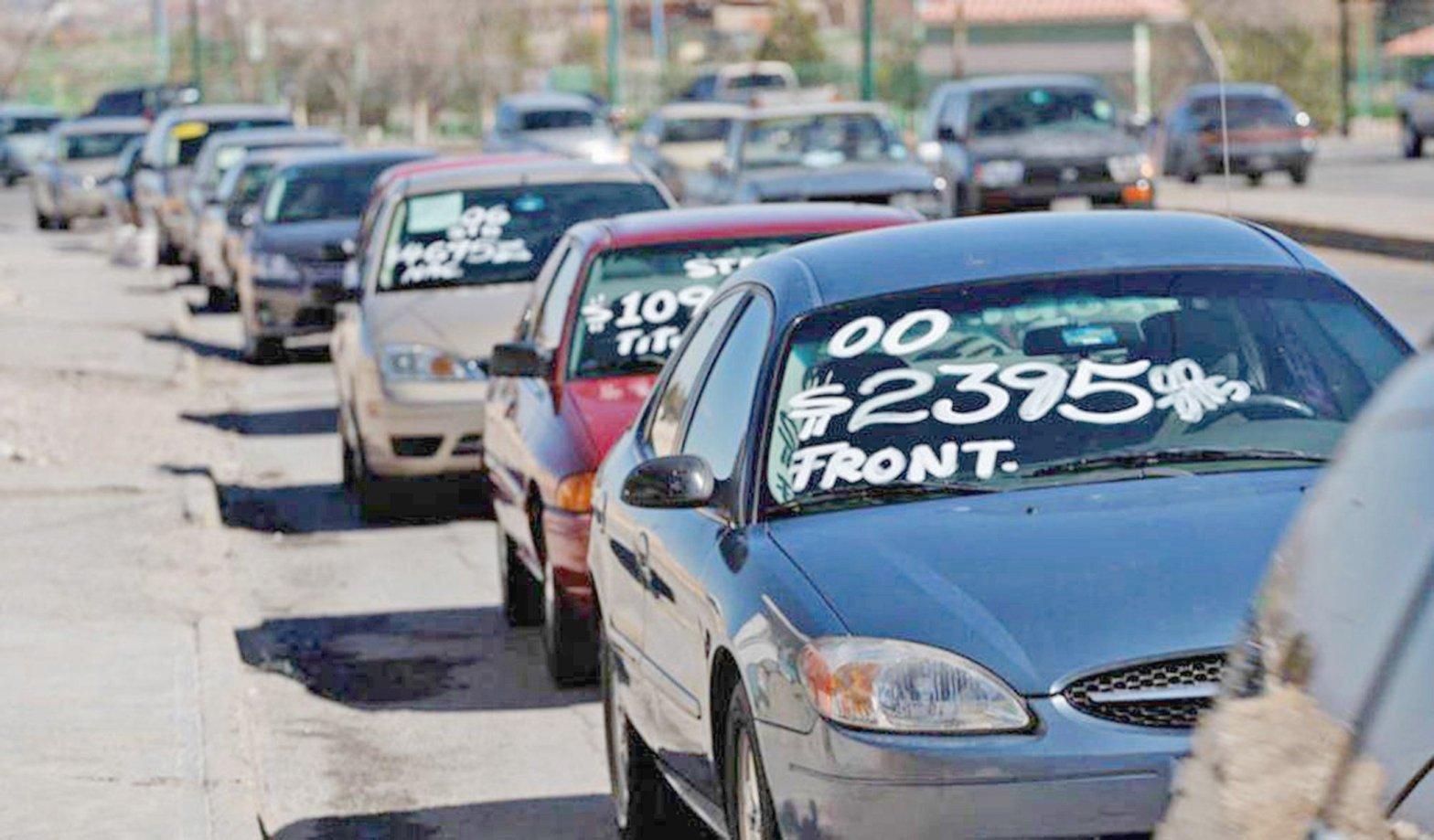 vehículos en venta