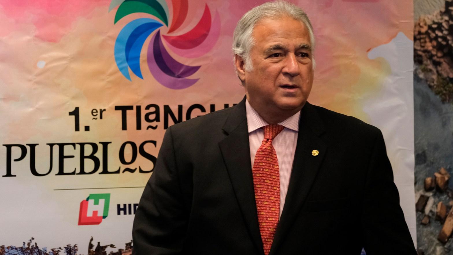 Imagen de el titular de la Secretaría de Turismo (Sectur), Miguel Torruco Marqués.