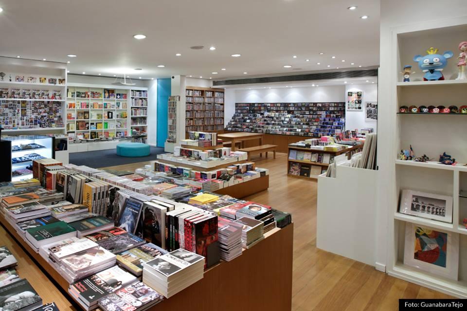 melhores livrarias do Rio de Janeiro
