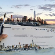 Greenwich Village drawing